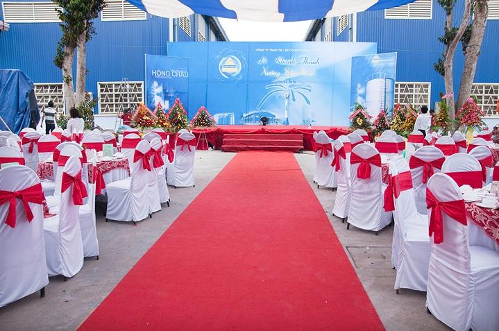 thảm sự kiện giá rẻ tại Hà Nội